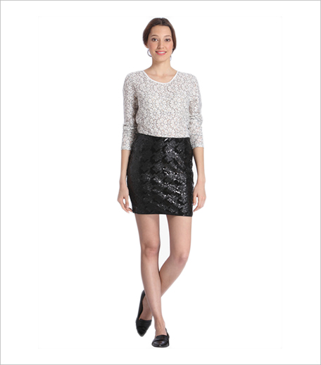 Vero Moda Black Pencil Skirt Jabong_Hauterfly