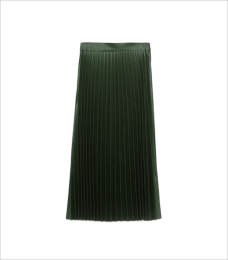Zara ACCORDION PLEAT SKIRT_Hauterfly