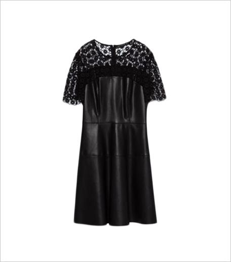 Zara FAUX LEATHER DRESS_Hauterfly