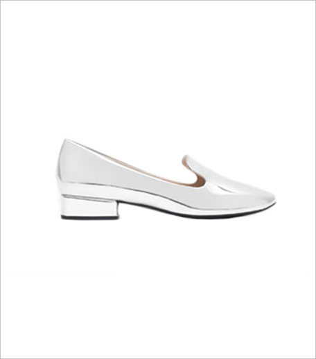 Zara LAMINATED FLAT SHOES_Hauterfly