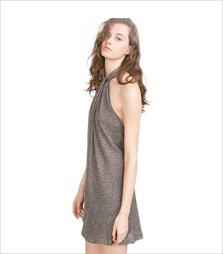 Zara SHIMMER HALTER NECK DRESS 1_Simi Hauterfly