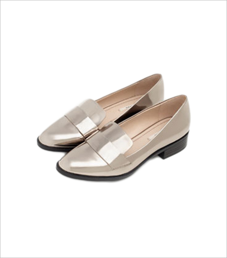 Zara SHINY LOAFERS_Hauterfly