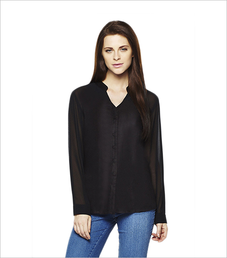 AND Raven Sheer Sleeve Shirt_Hauterfly
