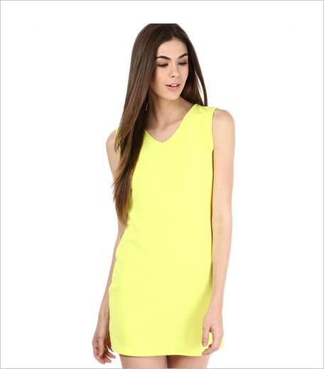 Alia Bhatt For Jabong Lemon 48 Shift Dress_Hauterfly