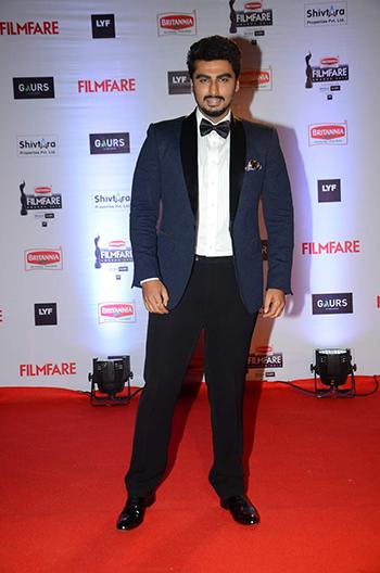 Arjun Kapoor Britannia Filmfare Awards_Hauterfly