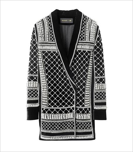 Beaded Jacket Balmain HM_Hauterfly