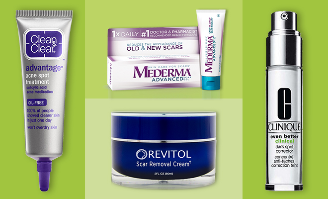 skincare for acne scars