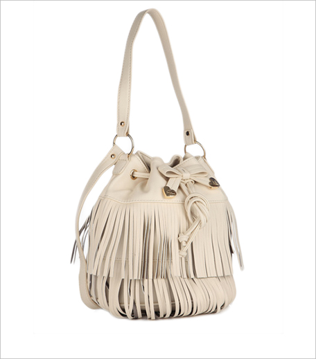 Betsey Johnson Cream Handbag_Hauterfly