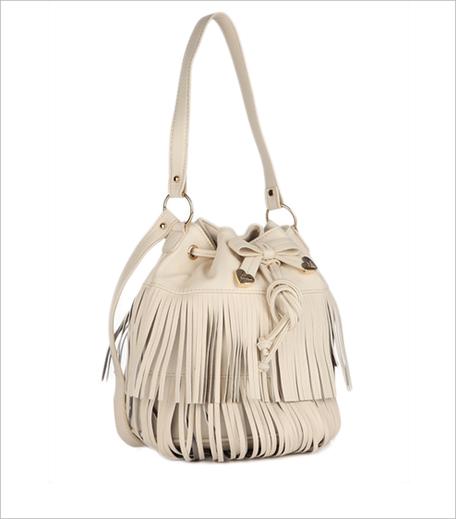 Betsey Johnson Cream Handbag_Hauterfly