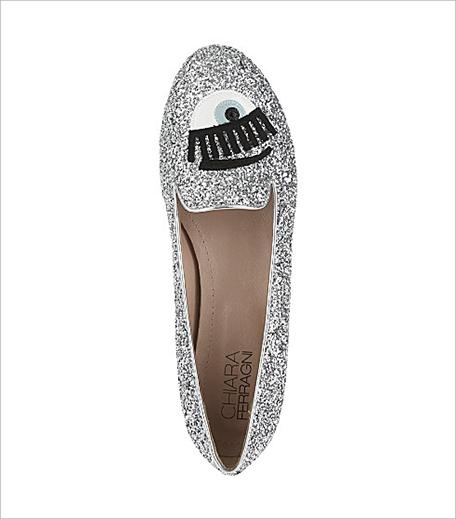 Chiara Ferragni Flirting glitter slippers Selfridges_Hauterfly