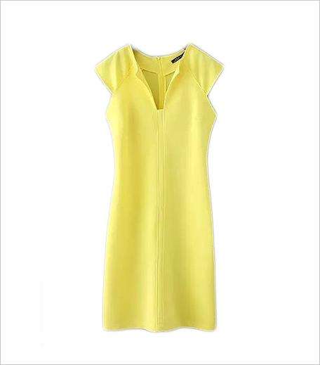 Closet Diaries Yellow Midi Dress_Hauterfly