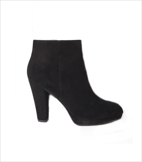 Forever 21 Faux Suede Booties_Hauterfly