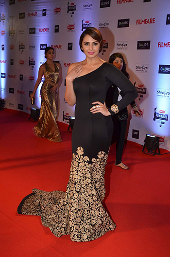 Huma Qureshi Britannia Filmfare Awards 2016_Hauterfly