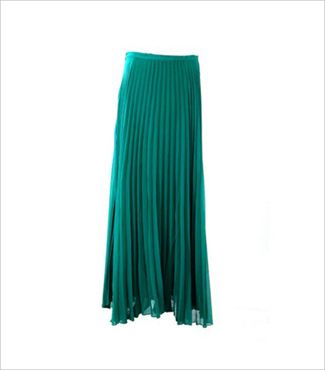Inonit Jovial Juliette Skirt in Green_Hauterfly