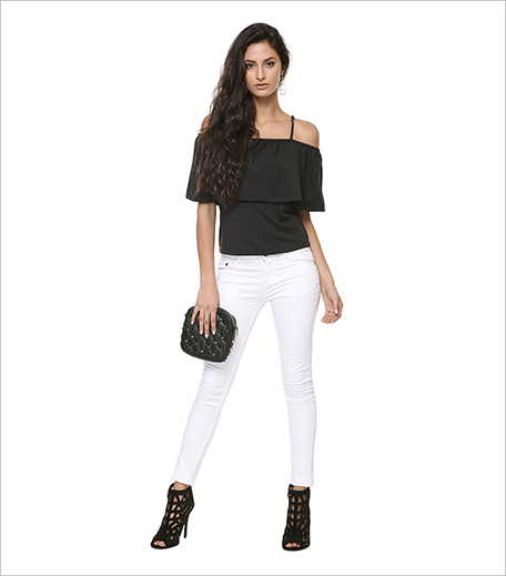 KOOVS Cold Shoulder Ruffle Layer Top_Hauterfly