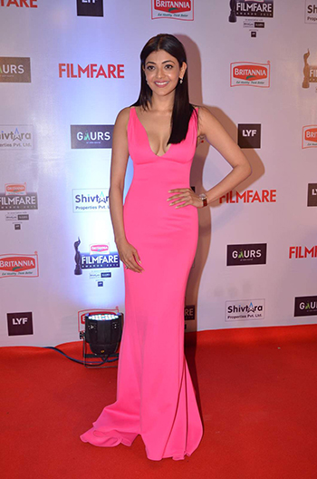 Kajal Aggarwal Britannia Filmfare Awards 2016_Hauterfly