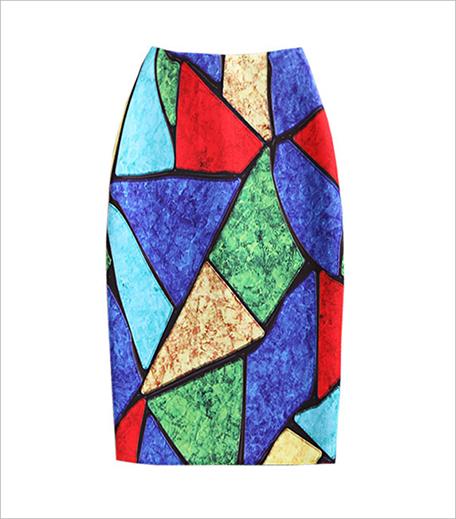 Kerkes Fashion Leather Illusion Pencil Skirt_Hauterfly