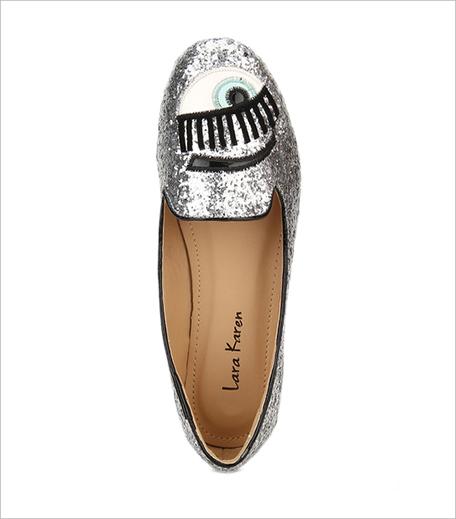 Lara Karen Silver Belly Shoes Jabong_Hauterfly