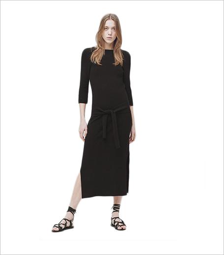 Mango Bow Knitted Dress_Hauterfly