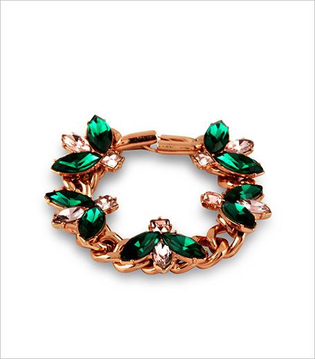 Mawi X Koovs Leaf Gem Chain Bracelet_Hauterfly
