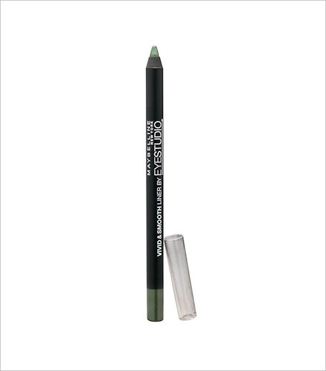 Maybelline Vivid & Smooth Eye Liner Pencil Olive_Hauterfly