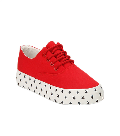 My Foot Red Casual Sneakers From jabong_Hauterfly