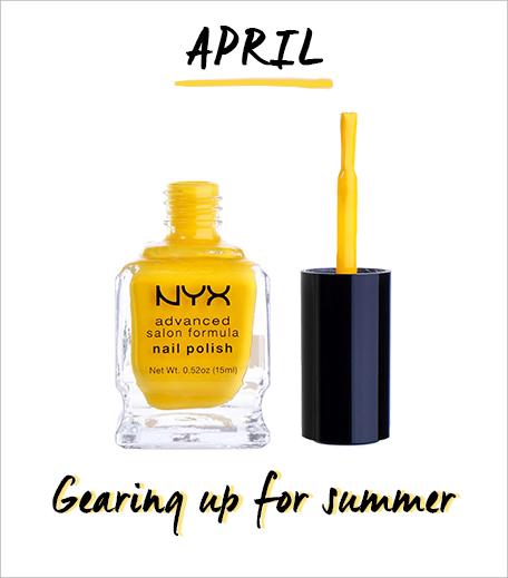 NYX Nail Polish Salon Formula Banana_Hauterfly