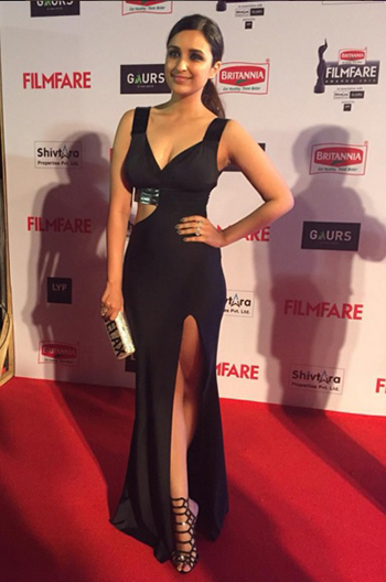 Parineeti Chopra 2 Britannia Filmfare Awards 2016_Hauterfly