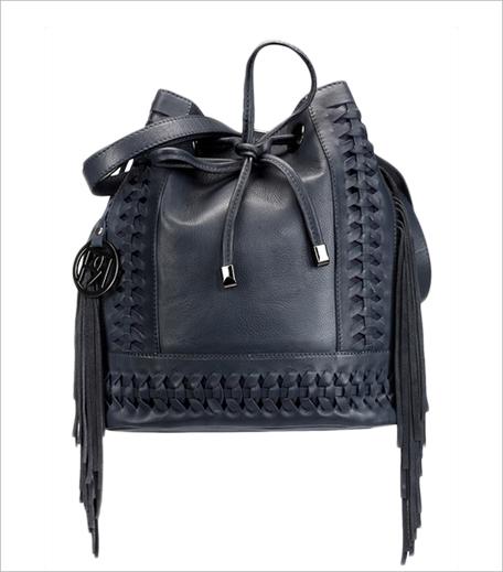 Phive Rivers Blue Leather Shoulder Bag_Hauterfly