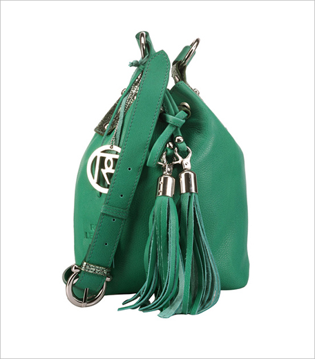 Phive Rivers Green Leather Sling Bag_Hauterfly