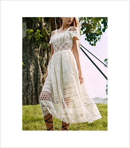 SR Store Cold Shoulder Hollow Lace White Dress_Hauterfly