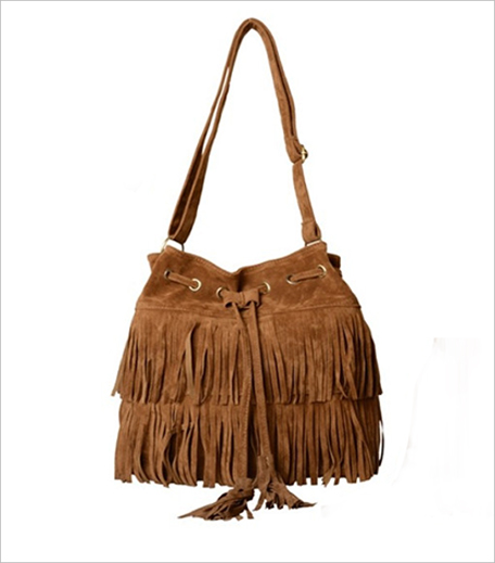 Style Splash Faux Suede Fringed Bag_Hauterfly