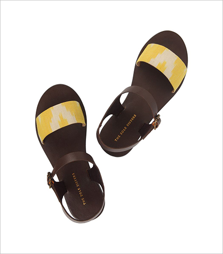 THE SOLE SISTERS IKAT SANDALS at Nete_Hauterfly