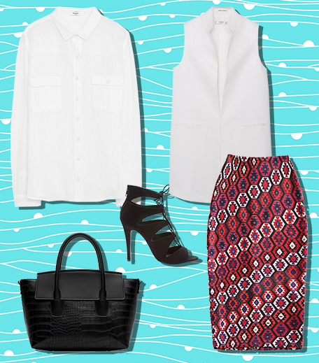 The Monday Wear With A Pencil Skirt_Hauterfly