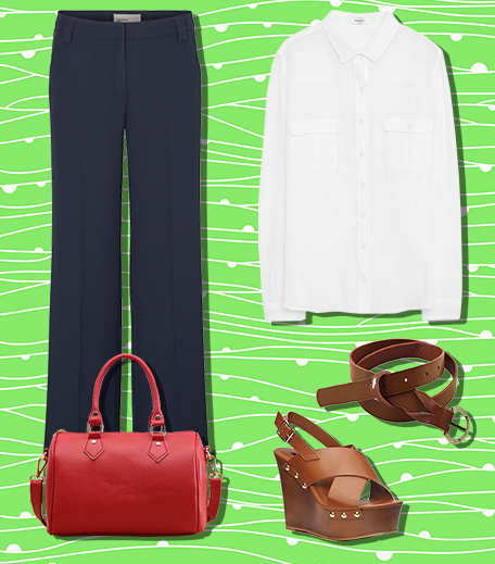 The Wednesday Wear With Wide-Legged Pants_Hauterfly