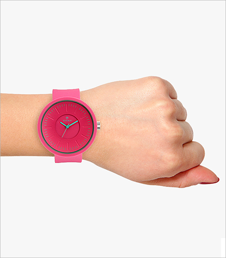 Titan Pink Analog Watch inpost_hauterfly