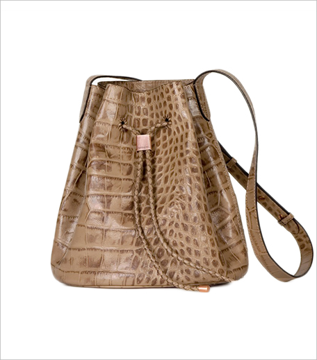 Vitasta Layla Bucket Bag in Croco Beige_Hauterfly
