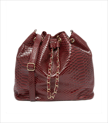 Yoki Fashion Faux Snakeskin Bucket Bag ASOS_Hauterfly