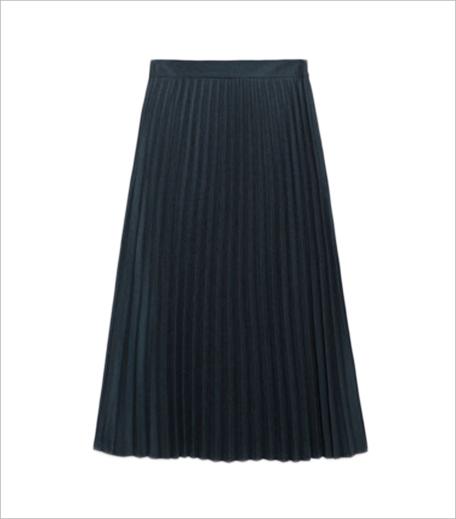 Zara Pleated Midi Skirt_Hauterfly