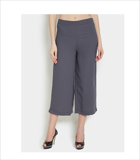 ABOF W Women Grey Culottes_Hauterfly