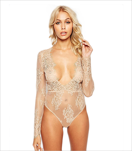 ASOS Lana Delicate Lace Plunge Body_Hauterfly