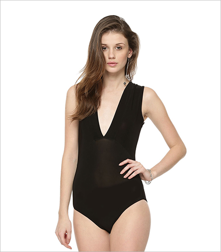 Boohoo Sleeveless Deep Plunge Bodysuit_Hauterfly