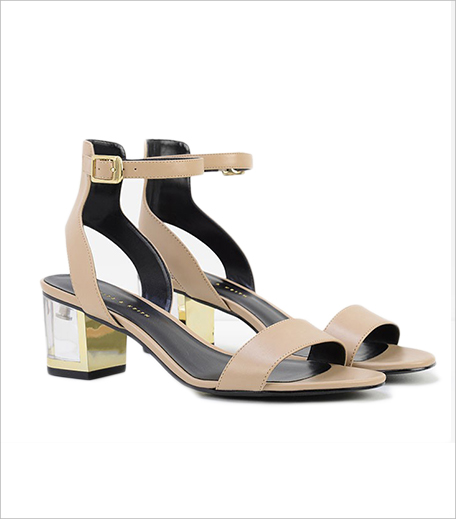 Charles & Keith Lucite Heel Sandals_Hauterfly