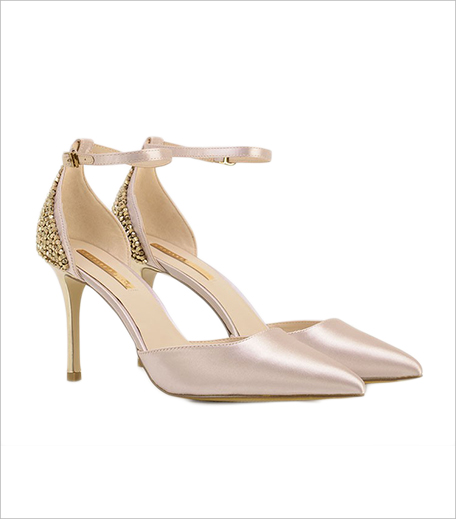 Charles & keith Satin Ankle Strap Heels_Hauterfly
