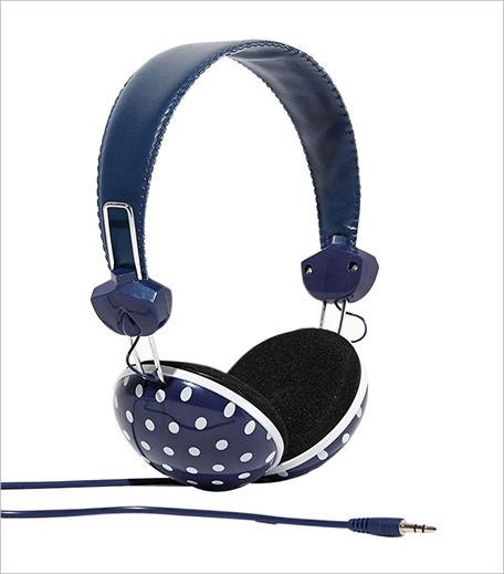 Charming CharlieJazzy Polka Dot Headphones_Hauterfly