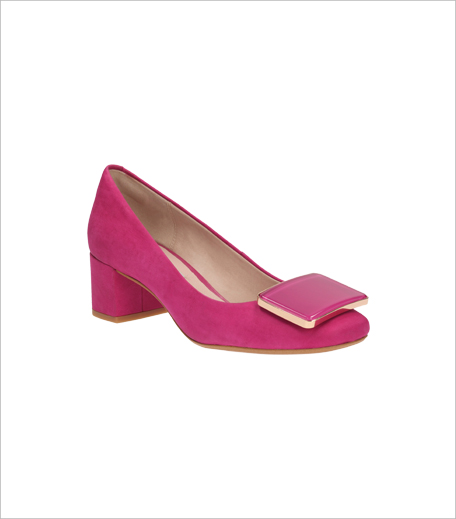 Clarks Chinaberry Fun Fuchsia Nubuck Shoes_Hauterfly