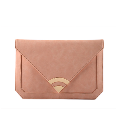 Cupidity Peach Envelope Clutch_Hauterfly