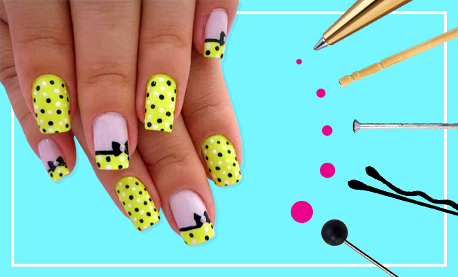 Hautehack heres how to diy a nail art dotting tool hauterfly hautehack heres how to diy a nail art dotting tool hauterfly prinsesfo Gallery