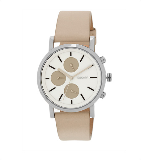 DKNY Dkny Soho Beige Brown Analog Watch_Hauterfly