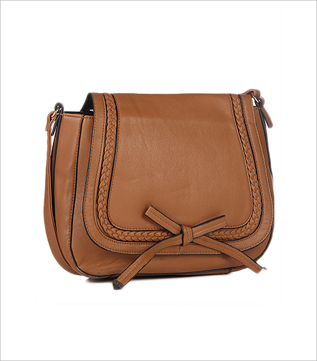 Dorothy Perkins Tan Large Plait Sling Bag_Hauterfly